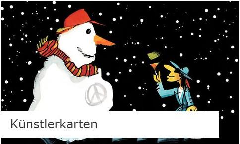 Künstler Weihnachtskarten online bestellen