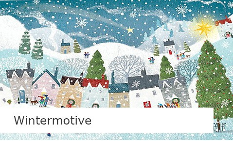 Wintermotiv Weihnachtskarten online bestellen